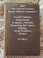 Married womans private medical companion antique book