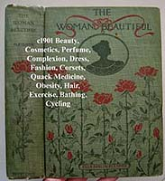 Fletcher The Woman Beautiful antique book corsets fashion hair cosmetics antique book