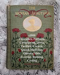 The Woman Beautiful Fletcher antique book