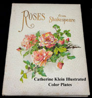 Roses from Shakespeare antique book C Klein color plates