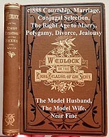 Wedlock the Right Relations of the Sexes book