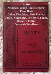 hints to young housekeepers antique book